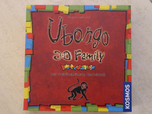 Rezension: Spiel Ubongo 3D Family von Kosmos