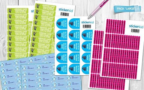 StickerKid Schulpaket (2)