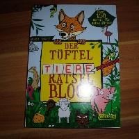 Der Tüftel Tiere Rätsel Block