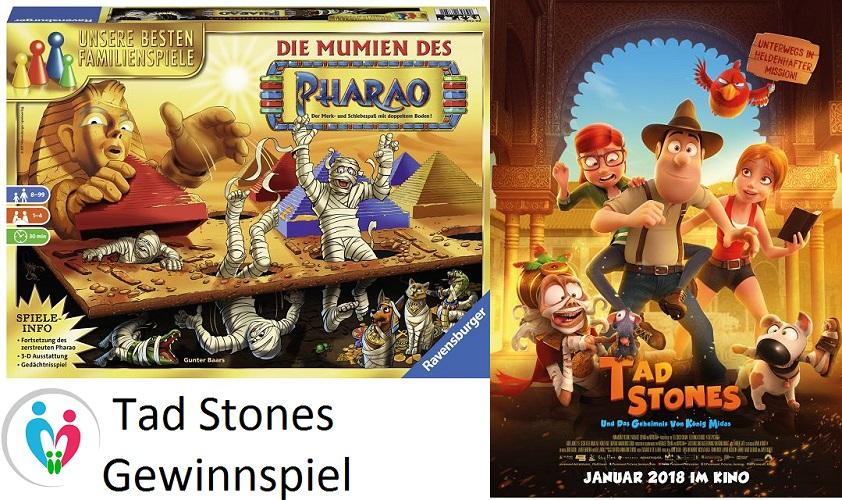 Gewinnspiel: TAD STONES UND DAS GEHEIMNIS VON KÖNIG MIDAS
