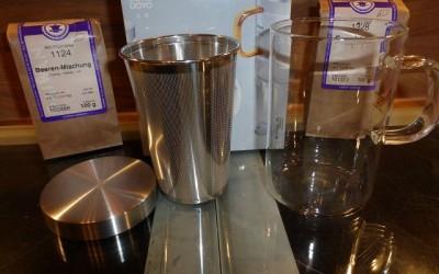 Teeglas mit Teesieb 3 400x250 - Produkttest: Teeglas mit Teesieb von Samadoyo und Gaiwan Tee