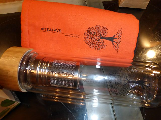 Teeglas und Cover 5 - Gewinnspiel: Teeglas und Cover von amapodo.com