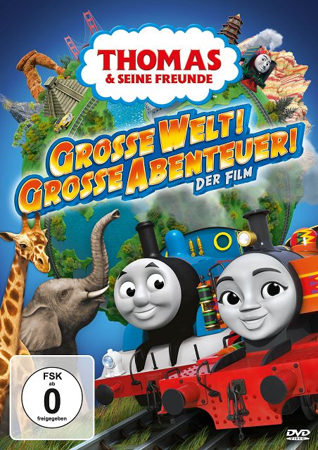 Gewinnspiel: Thomas & seine Freunde – Der Film