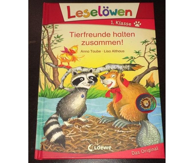 Rezension: Leselöwen 1. Klasse – Tierfreunde halten zusammen!