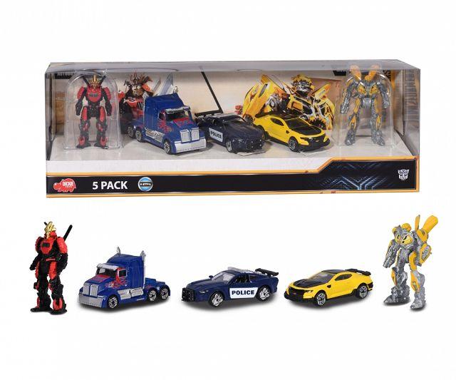 Produkttest: Transformers 5-Pack von Dickie Toys