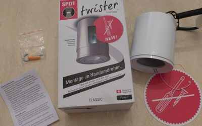 Twister Lighting 4 400x250 - Tester gesucht: Twister Lighting - Deckenleuchte