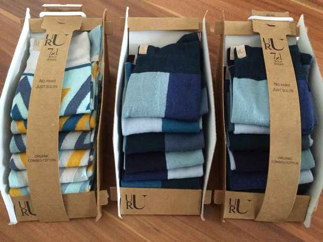 Produkttest: URU Socks Solosocken