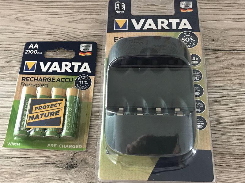 Produkttest: Varta Eco Charger
