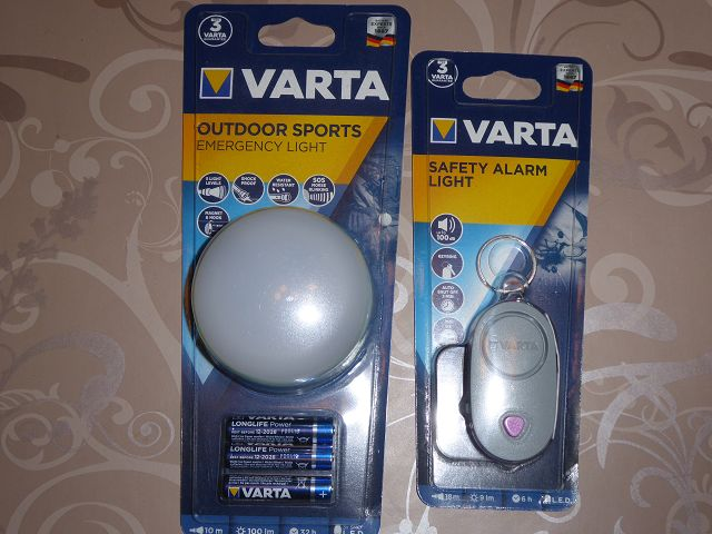 Produkttest: Varta Outdoor Sports Emergency Light und Safety Alarm Light
