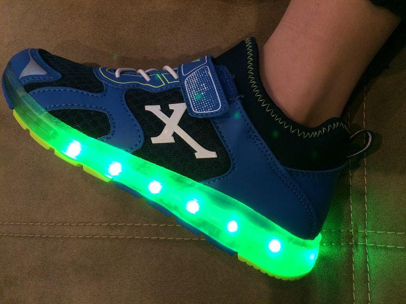 Produkttest: Venice Sneaker mit Licht