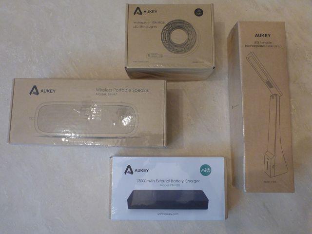 Produkttest: Verschiedene Produkte von Aukey im Test