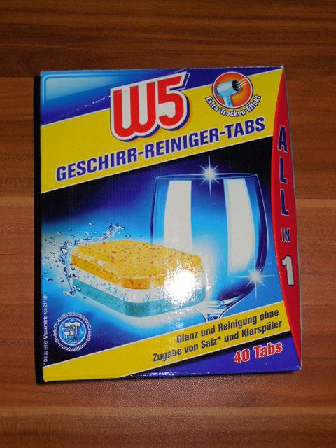 Lidl W5 Geschirr-Reiniger Tabs im Test