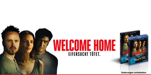 WELCOME HOME DVD Gewinnspiel 2 - Gewinnspiel: WELCOME HOME