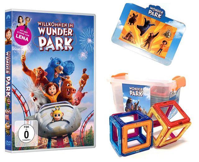 Gewinnspiel: WILLKOMMEN IM WUNDER PARK Fanpaket
