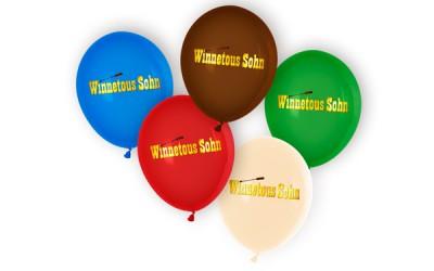 Luftballons Wettflug