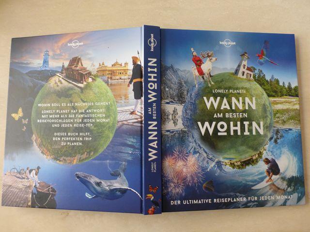 Rezension: Wann am besten wohin – Reiseplaner Lonely Planet