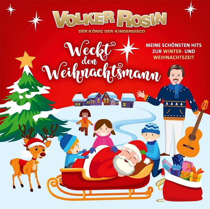 Gewinnspiel/Rezension – Volker Rosin weckt den Weihnachtsmann