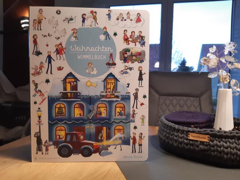 """Rezension: Wimmelbuch """"Weihnachten"""" vom Wimmelbuchverlag"""