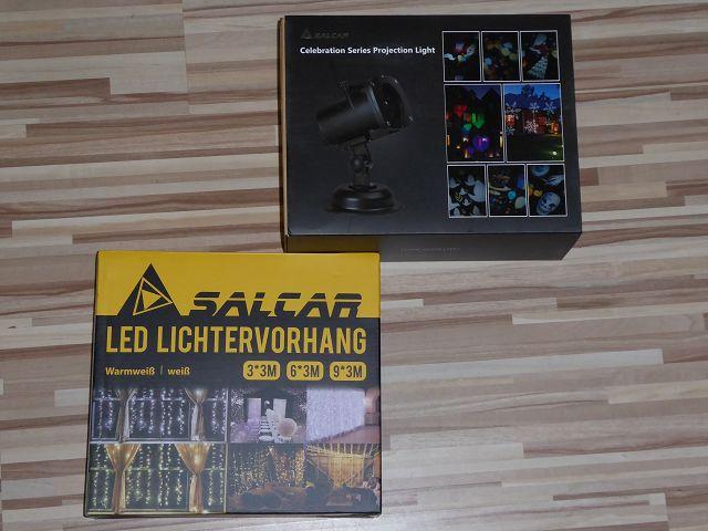 Produkttest: Weihnachtsbeleuchtung von Salcar im Test