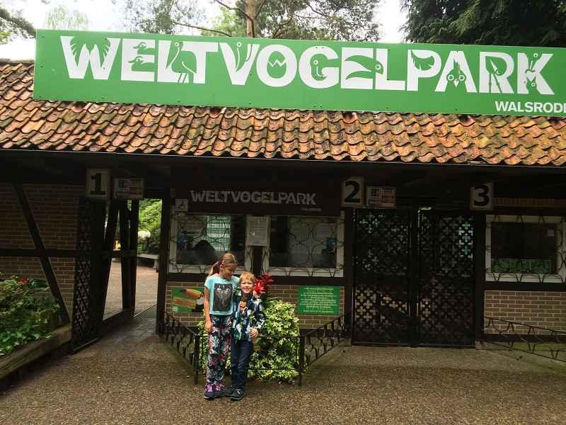 Familienausflug in den Weltvogelpark Walsrode