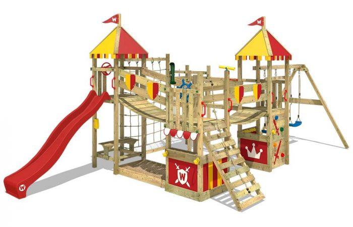 Spiel und Spaß im Garten mit Spieltürmen von Wickey