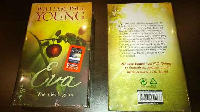 "William Paul Young ""Eva Wie alles Begann"" - Tester gesucht: William Paul Young: ""Eva - Wie alles Begann"""