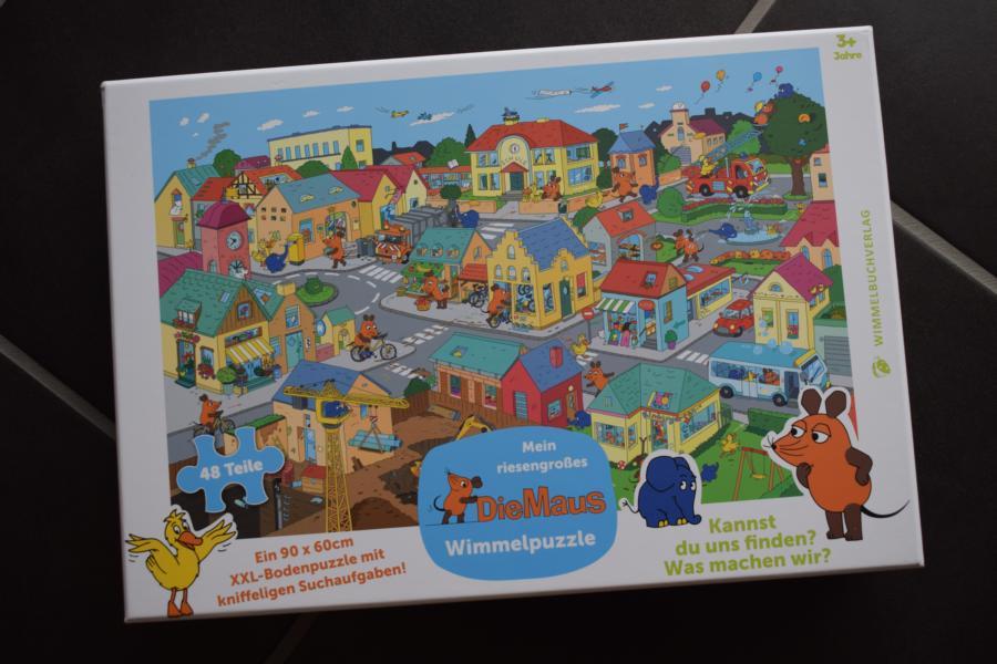 Mein riesengroßes Die Maus Wimmelpuzzle vom Wimmelbuchverlag