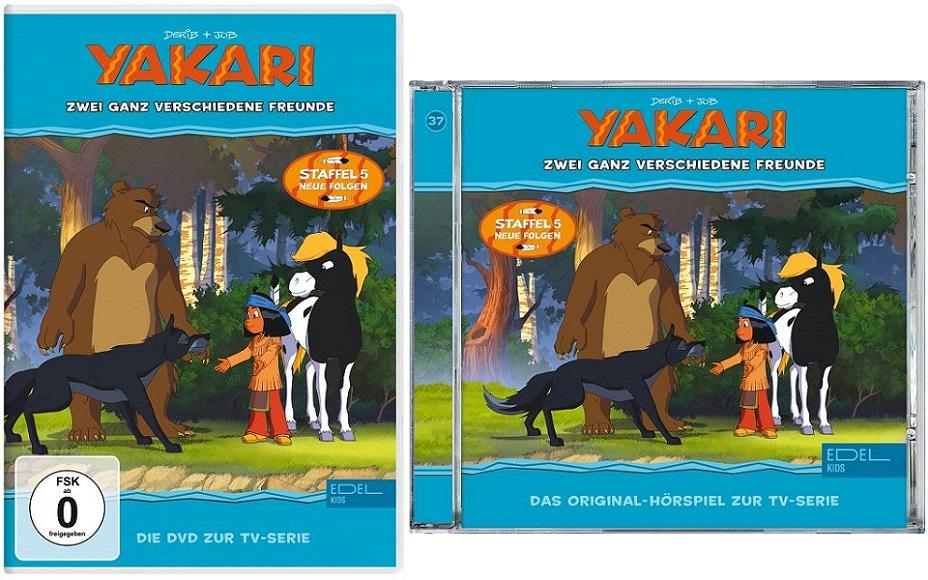 Gewinnspiel: YAKARI – Zwei ganz verschiedene Freunde