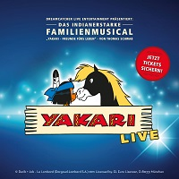 YAKARI Keyvisual quadratisch - Ankündigung: das Familien-Musical YAKARI kommt nach Bielefeld