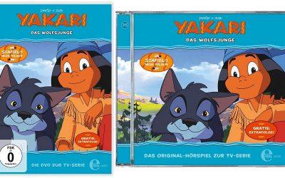 Yakari Folge 35 Das Wolfsjunge 400x250 - Gewinnspiel: Yakari - Folge 35: Das Wolfsjunge