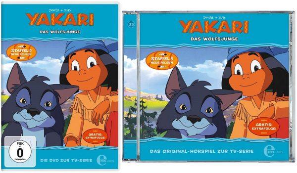 Yakari Folge 35 Das Wolfsjunge 600x350 - Gewinnspiel: Yakari - Folge 35: Das Wolfsjunge
