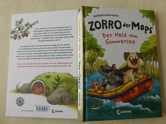 Zorro der Mops Der Held vom Sommersee 4 - Rezension: Zorro, der Mops - Der Held vom Sommersee