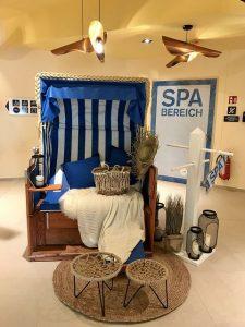 aja Travemünde das Resort NIVEA Haus Spa Bereich 3 225x300 - Familienurlaub im aja Travemünde Resort