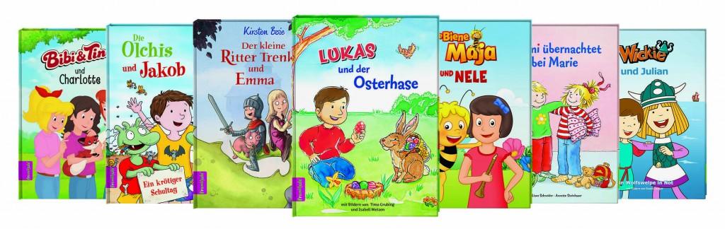 alleBu¦êcher quer 300dpi Ostern 1024x324 - Tester gesucht - personalisiertes Kinderbuch von framily.de