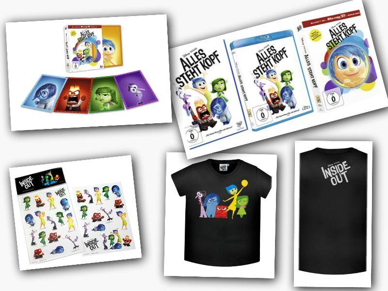 alles steht kopf dvd gewinnspiel - Gewinnspiel: Alles steht Kopf auf DVD und BD