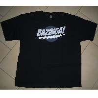Bazinga Shirt von Allposters im Test