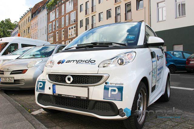 ampido tester gesucht 1 - Testaktion: teste ampido und finde in Großstädten IMMER einen Parkplatz
