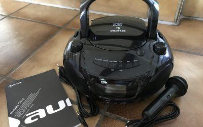 auna Boombox 2 400x250 - Produkttest: auna Roadie Sing CD Boombox