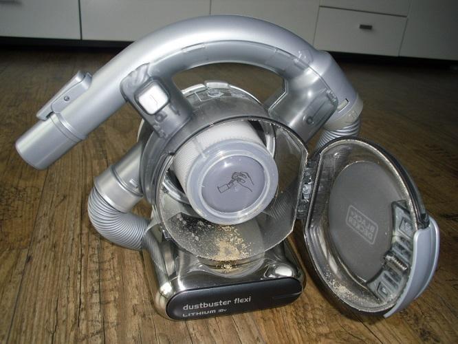 18v lithium dustbuster flexi akku handstaubsauger von. Black Bedroom Furniture Sets. Home Design Ideas