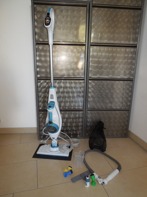 Produkttest: Black&Decker Steam Mop Deluxe + Steam Buster