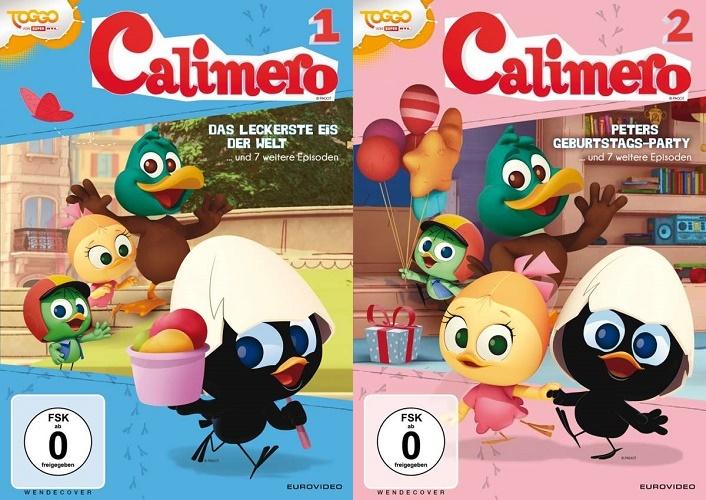 Gewinnspiel: CALIMERO DVD 1 & 2