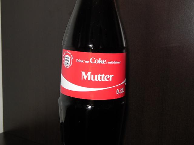 Trink ´ne Coke mit deiner Mutter! Muttertag 2013 mit Coca Cola