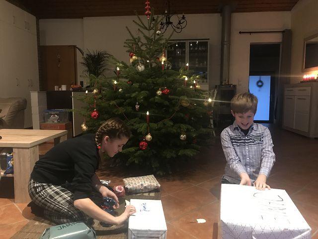 Familienerholung in Deutschland zu Weihnachten