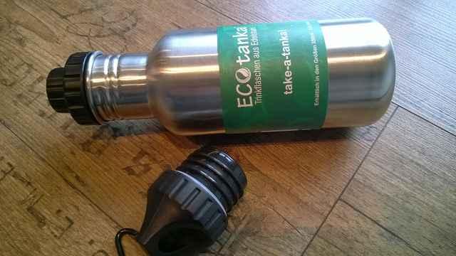 ecotanka edelstahl trinkflasche im test 1 - Produkttest: Trinkflaschen aus Edelstahl von ECOtanka