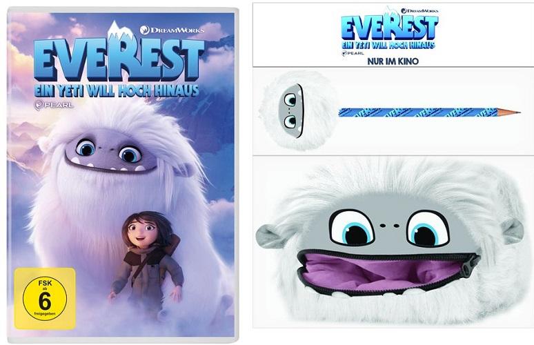 Gewinnspiel: Everest – ein Yeti will hoch hinaus