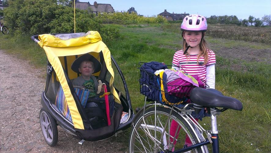 Mit Kindern unterwegs, geeignete Transportmittel mit Kind