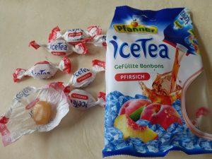 gefüllte Bonbons Pfanner IceTea Pfirsich und Lemon Lime 2 300x225 - Produkttest: Degustabox Juli 2017