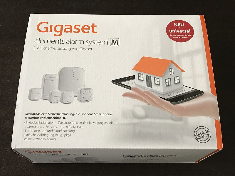 Produkttest: Gigaset Elements Alarm System