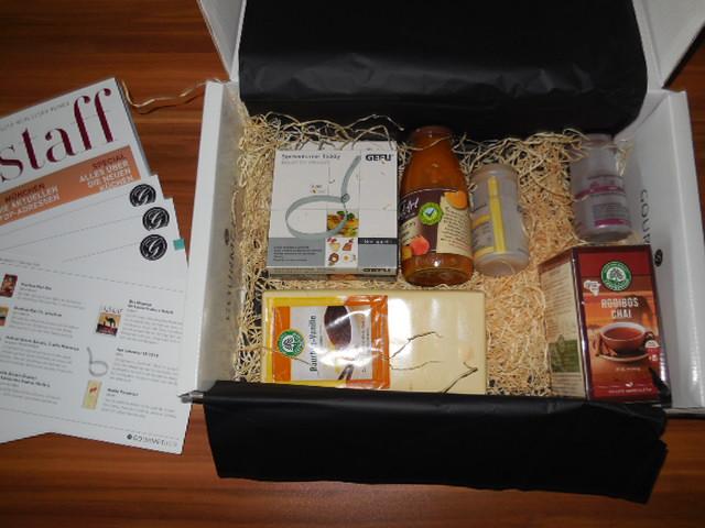 gourmet box oktober 2013 1 - GourmetBox September / Oktober 2013