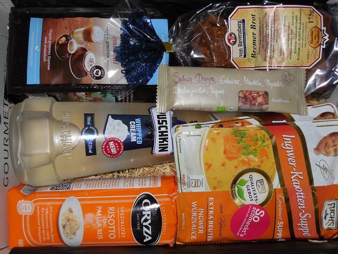 Testbericht Gourmetbox Juli / August